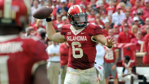 "Oklahoma (""The Rough Rider"" uniform vs. Kansas State, Oct. 15)"
