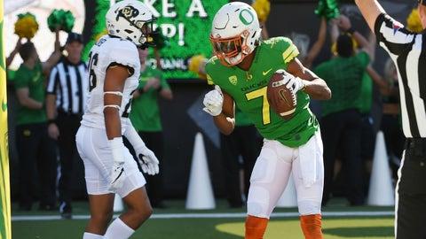 "Oregon (""Once a Duck, Always a Duck"" uniforms vs. Colorado,  Sept. 24)"