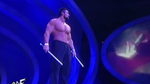 Steve Blackman's escrima sticks