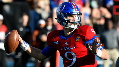 This is Kansas' first win against an FBS team in over two calendar years