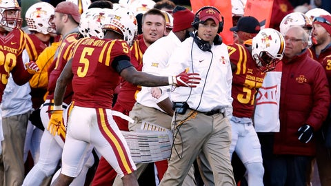 This is the first time Iowa State and Kansas won Big 12 games on the same day since 2007