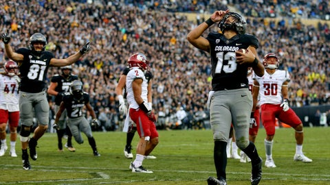No. 9 Colorado 27, No. 22 Utah 22