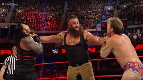 Men's 5v5 - Team Raw: Braun Strowman