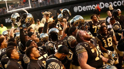 Wake Forest Demon Deacons (6-3)