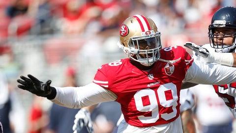 DeForest Buckner, DE, 49ers (NA last week)