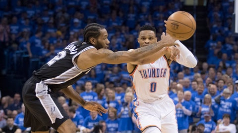 ... but the MVP will be Kawhi Leonard or Russell Westbrook