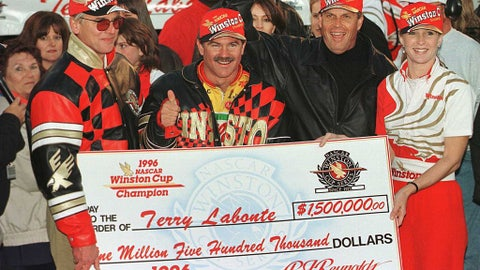 Terry Labonte's long stretch between titles