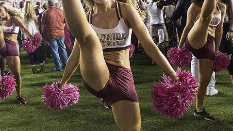 Florida State cheerleader