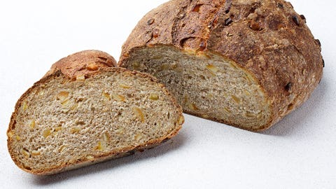 The average price for a loaf of bread was … let's say $2.50