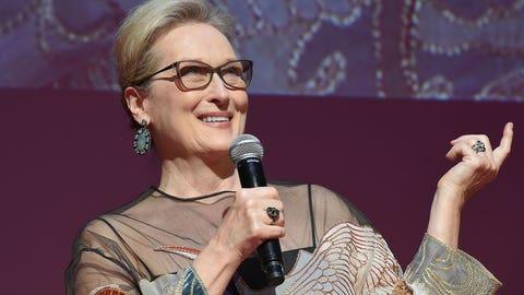Unforgivably, Meryl Streep hadn't yet been awarded the Cecil B. DeMille Award