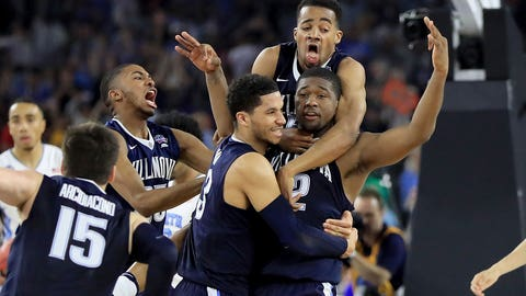 Villanova hits buzzer-beating 3-pointer to beat North Carolina for national title
