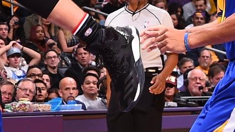 """Do I call a foul? Nah."""