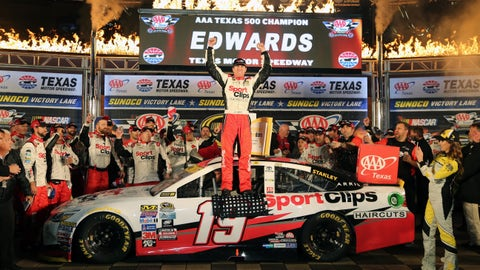 First JGR Chase victory