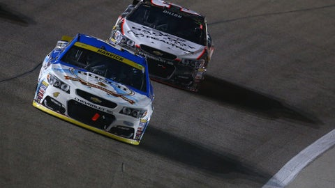 Dillon and Harvick get into trouble