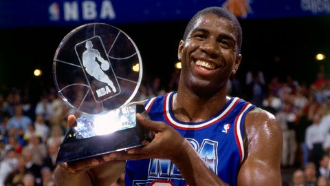 He was the 1992 NBA All-Star Game MVP