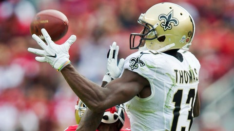 Michael Thomas, WR, Saints (4th last week)