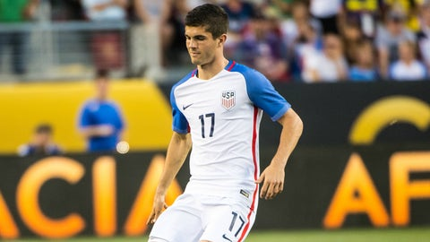 Christian Pulisic: Left wing