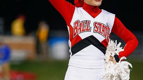 Ball State cheerleader