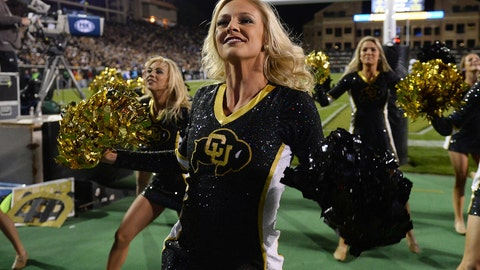 Colorado cheerleaders