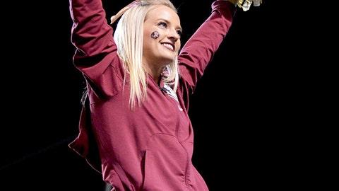 Florida State cheerleader