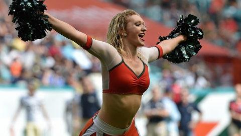 Miami cheerleader