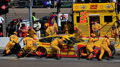 Pit stops are a deciding factor in the race