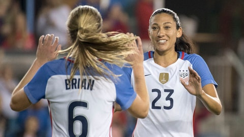 Where should Christen Press play and should she start?