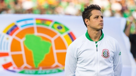 "Key player for Mexico: Javier ""Chicharito"" Hernandez"