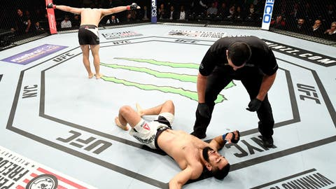 UFC 205: Luque v Muhammad