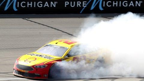 Joey Logano, FireKeepers Casino 400 at Michigan