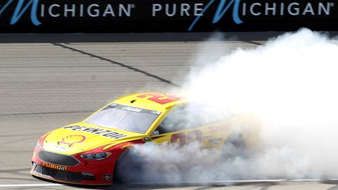 Joey Logano, FireKeepers Casino 400 at Michigan