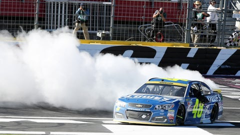 Jimmie Johnson, Bank of America 500 at Charlotte