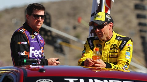 Joe Gibbs Racing teammates