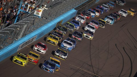 Final running order for the Can-Am 500 at Phoenix