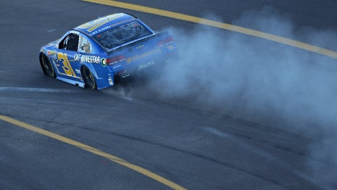 Newman tangles with Truex