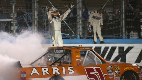 Grabbing a win in the Truck Series