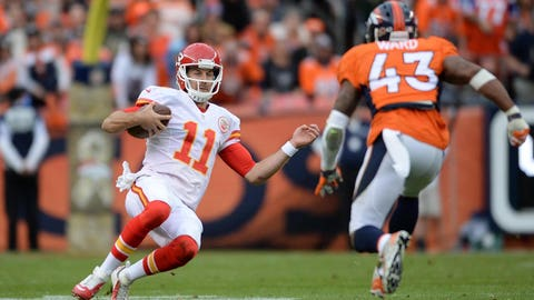 Sunday night: Chiefs at Broncos