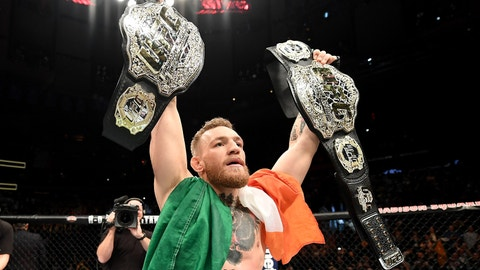 Conor McGregor's success
