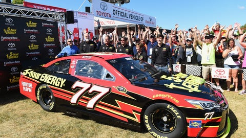Moving up to NASCAR's top level