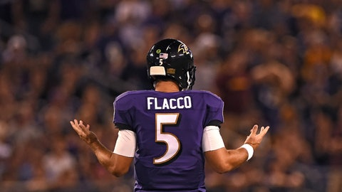 Joe Flacco thinks the Ravens should have won