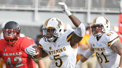 Brian Hill, RB, Wyoming (Poinsettia Bowl)