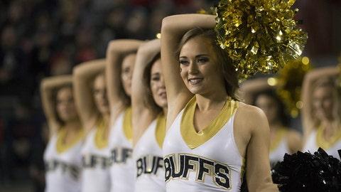 Colorado cheerleaders