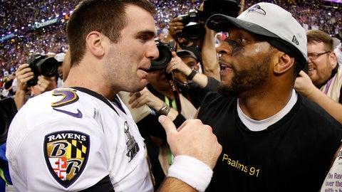 Joe Flacco -- Baltimore Ravens, Super Bowl XLVII
