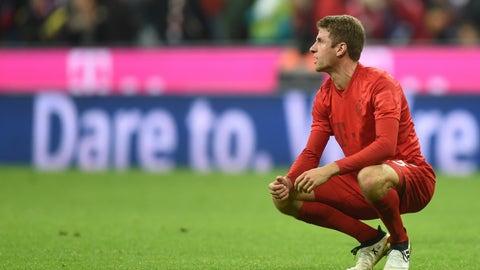 Thomas Müller's Bundesliga goal drought