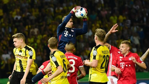 Can Dortmund score on Manuel Neuer?