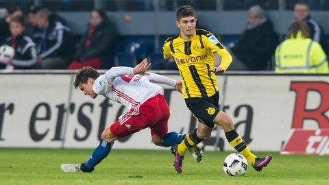 Christian Pulisic's role