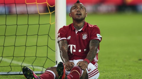 How will Bayern cope without Arturo Vidal?