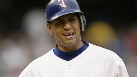 Alex Rodriguez | Rangers 3-time All-Star | 2001-03