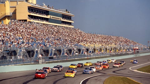 7 historical facts for Homestead-Miami Speedway