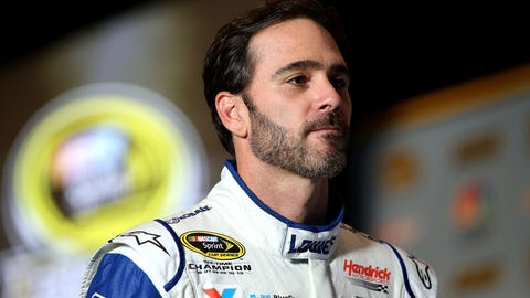 Because he's Jimmie Freakin' Johnson